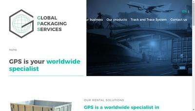 Site internet de Groupe Gps