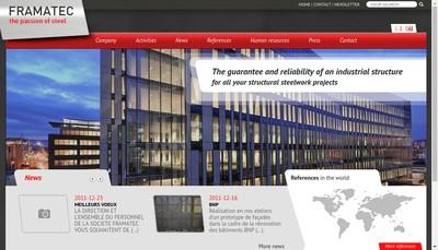 Site internet de Framatec