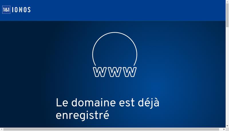 Capture d'écran du site de Guilhem Meric