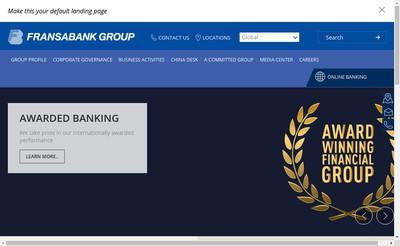 Site internet de Fransabank(France) SA