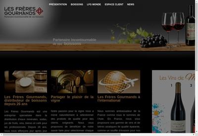 Site internet de L'Atelier des Boissons
