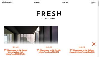 Site internet de Julien Rousseau Architectes