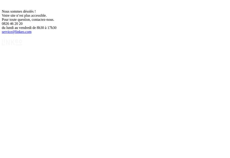 Capture d'écran du site de Froid Pro 91