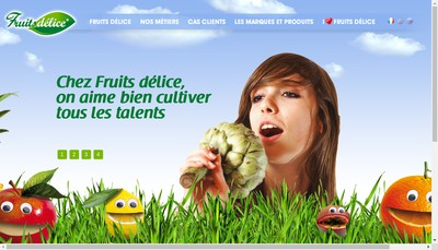 Site internet de Yarden Jus de Fruits