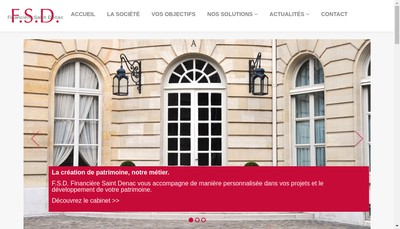 Site internet de FSD