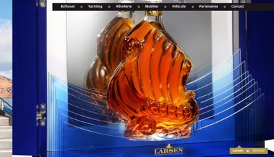 Capture d'écran du site de Brillouet