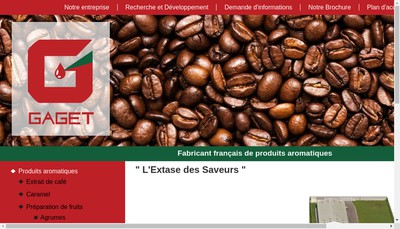 Site internet de Gaget