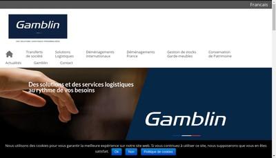 Site internet de Gamblin