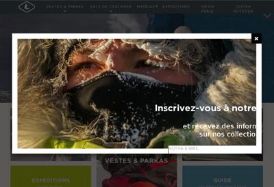 Capture d'écran du site de Garage du Petit Kervao