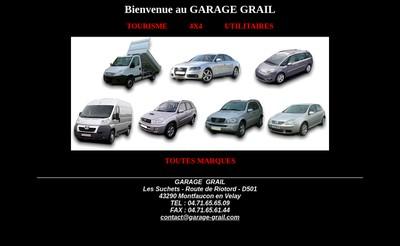 Site internet de Garage Alain Grail