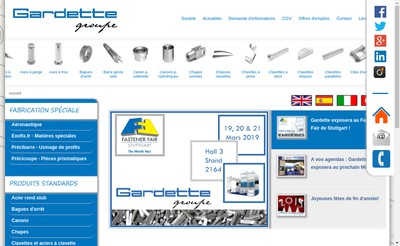 Site internet de Gardette SA