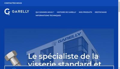 Site internet de Garelly