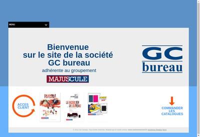 Site internet de GC Bureau