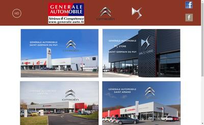 Site internet de Gale Auto