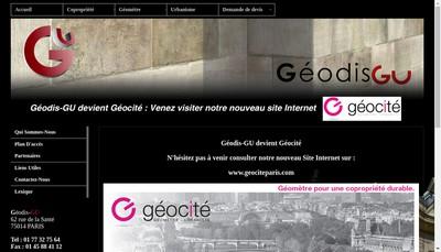 Site internet de Geocite
