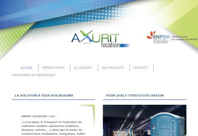 Capture d'écran du site de Generale d'Electricite et de Plomberie