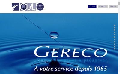 Site internet de Societe Gereco Plomberie Couvert