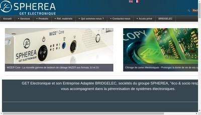 Site internet de Get Electronique