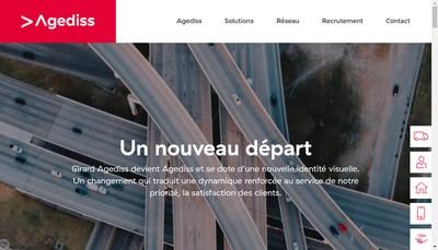 Site internet de Girard Agediss
