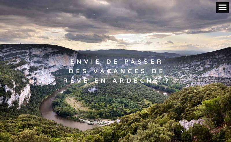 Capture d'écran du site de La Source Avelan