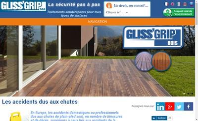 Site internet de Glissgrip SAS