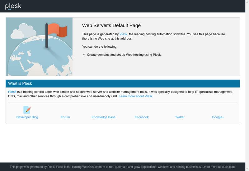 Capture d'écran du site de Gmdrive