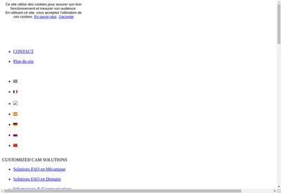Site internet de Go2Cam France