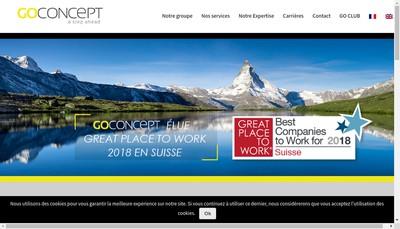 Site internet de Go Concept