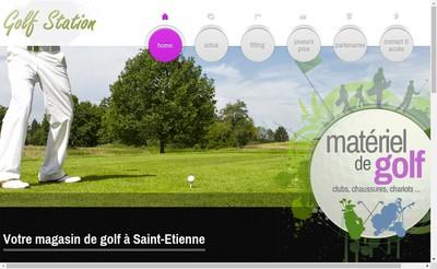 Site internet de Golf Station