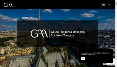 Site internet de Goutal Alibert & Associes