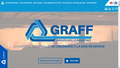 Site internet de Graff