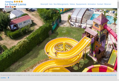 Site internet de Camping le Grand Lierne