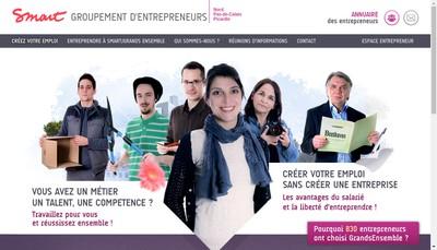 Site internet de Grands Ensembles - Formation