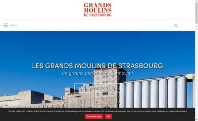Site internet de Gms Alimentaire