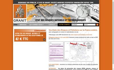 Site internet de Granit