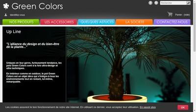Site internet de Green Colors