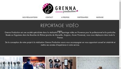Site internet de Grenna Production