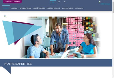 Site internet de Dsi Group