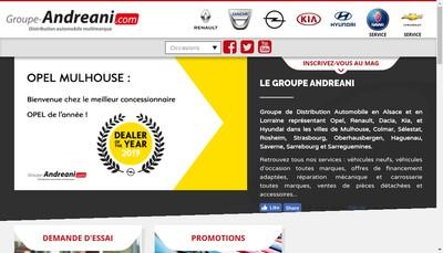 Site internet de Alca Automobile