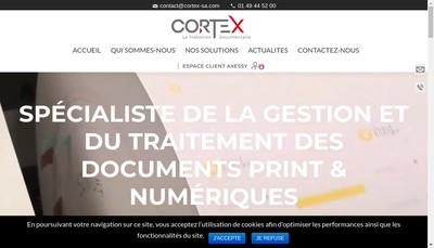 Site internet de Cortex