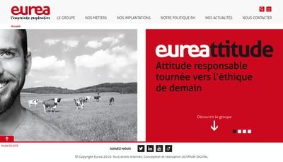 Site internet de Sica Eurea Coop