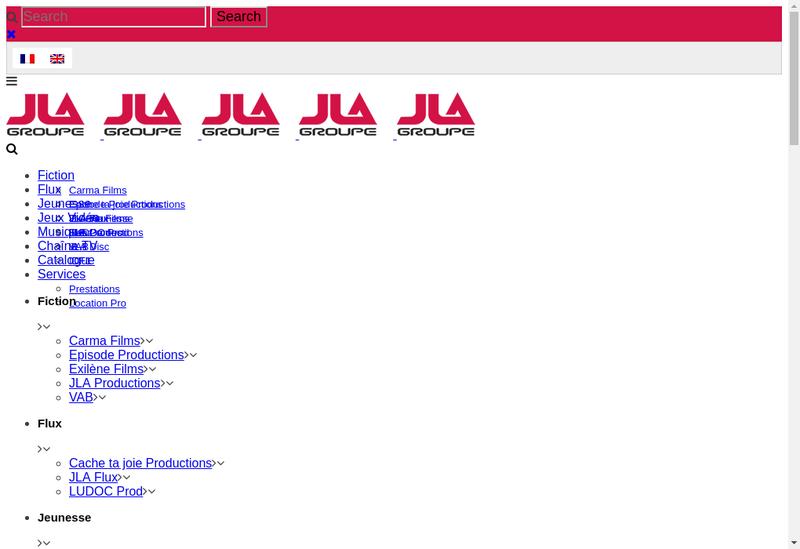 Capture d'écran du site de Mrraz