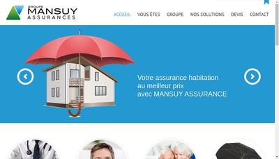 Site internet de Groupe Mansuy