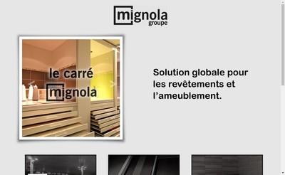 Site internet de Groupe Mignola