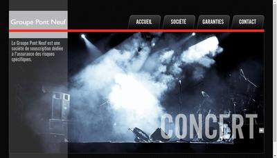 Site internet de Groupe Pont Neuf