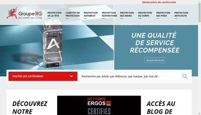 Site internet de GROUPE RG
