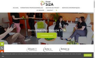 Site internet de Afcom 2 I