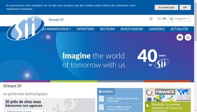 Site internet de Societe pour l'Informatique Industrielle