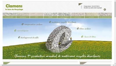 Site internet de Clamens SA