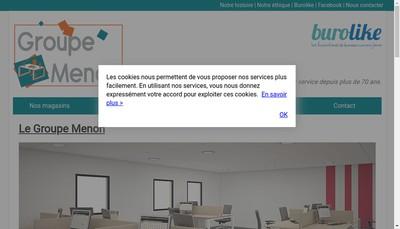 Site internet de Menon Buro